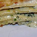 recette lasagnes poireaux crevettes