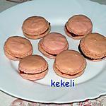 recette Macaron à la framboise