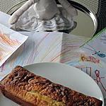 recette cake moelleux saveur d'enfance!!(pomme-raisin)