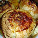 recette Dessert pomme/orange au four