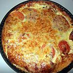 recette quiche au thon tomate