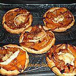 recette tartelettes poivrons et chèvre