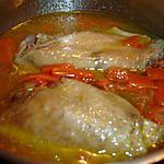 recette aile et cuisses de dinde en ragout à ma façon