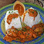 recette curry de lotte flambée au cognac
