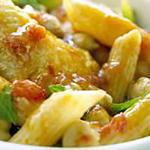 recette Pâtes au poulet et à la menthe