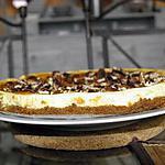 recette cheesecake vanille, caramel et noix de pécan, une tuerie !!