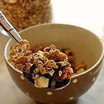 recette Muesli aux trois chocolats et Sésame