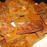 recette Carrés carotte-potiron aux noix, glaçage à l'orange