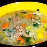 recette BROTH IRLANDAIS A L'AGNEAU Eh oui, encore une soupe irlandaise! Mais vous savez, les anglo-saxons font des excellents plats d'hiver.