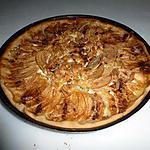 recette tarte aux pommes alsacienne rapide