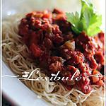 recette Sauce à spaghetti maison