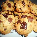 recette cookies au pépites deux chocolats