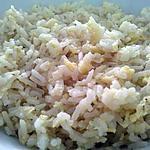 recette Riz poelé aux oeufs
