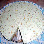 gateau panacota a la pistache