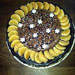 recette fondant aux clémentines coeur chocolat et mousse