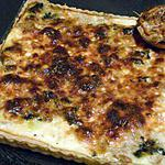recette tarte aux épinards et thon