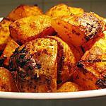 recette Pommes de terre épicées
