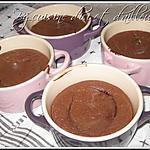 recette Moelleux choco-amandes coeur framboises