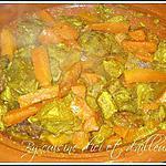 recette Tajine de veau aux carottes & miel