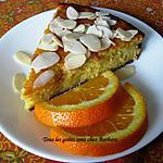 recette Gâteau ultra-moelleux à l'orange et aux amandes