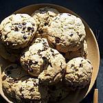 recette Cookies flocons d'avoine, noisettes et chocolat
