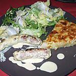 recette Chipolatas ... sauce à la moutarde....( Saucisses. fraîches .. de Porc....)...ou autre....