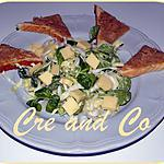 recette Salade d'endives et de mâche...