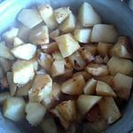 recette Pommes de terre à l'ails ,au jus de bouillon