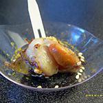 recette noix de saint-jacques poêlées au curry et graines de sésame (apéro chic)