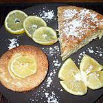 Gâteau et minis gâteaux  au citron.... extra moëlleuuuuuuuuuuuuux.....façon... Kapiluka....