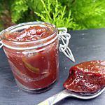 recette Confiture poire-chocolat-épices