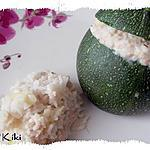 recette Courgettes farcies  au thon (weight watcher propoint)