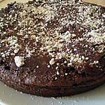 recette Gateau chocolat-noisettes.