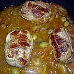 recette paupiette de veau aux oignons et tomates