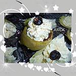 recette Mousses d'artichaut sur lit de tapenade