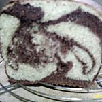 recette Cake marbré au chocolat et au thé vert Matcha