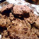 recette Cookies cacao et pépites de chocolat