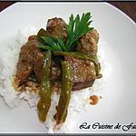 recette Porc gros piments sauce d'huitre
