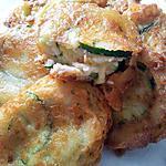 Beignets de courgettes aux parmesan
