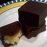 Les chocolats fourrés à la crème au beurre à la vanille