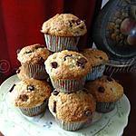 recette Muffins aux bananes et pépites de chocolat (2)
