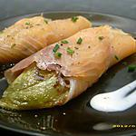 recette endives au saumon, sauce à la crème