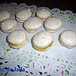 recette Macarons aux amandes grillé
