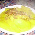 recette pomme de terre (mhamar de tlemcen)