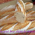 recette Baguettes à l'épeautre