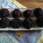 recette MINIVOLCANS au chocolat amer