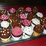 recette cupcakes nutella/ coco et vanille carambar/speculoos