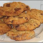 recette Cookies... aux grosses pépites de chocolat