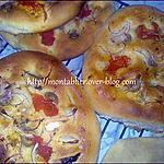 recette Focaccia à la pâte des 10 mns