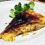 recette Tarte pomme camembert façon soufflé